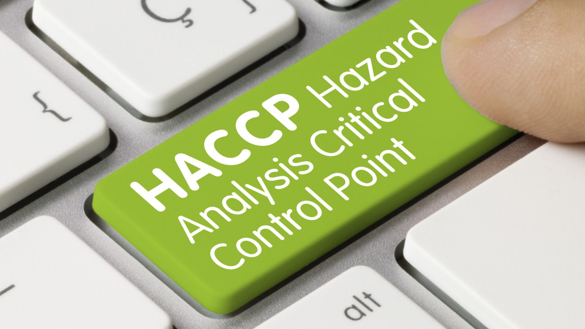 HACCP Foundation Training Course