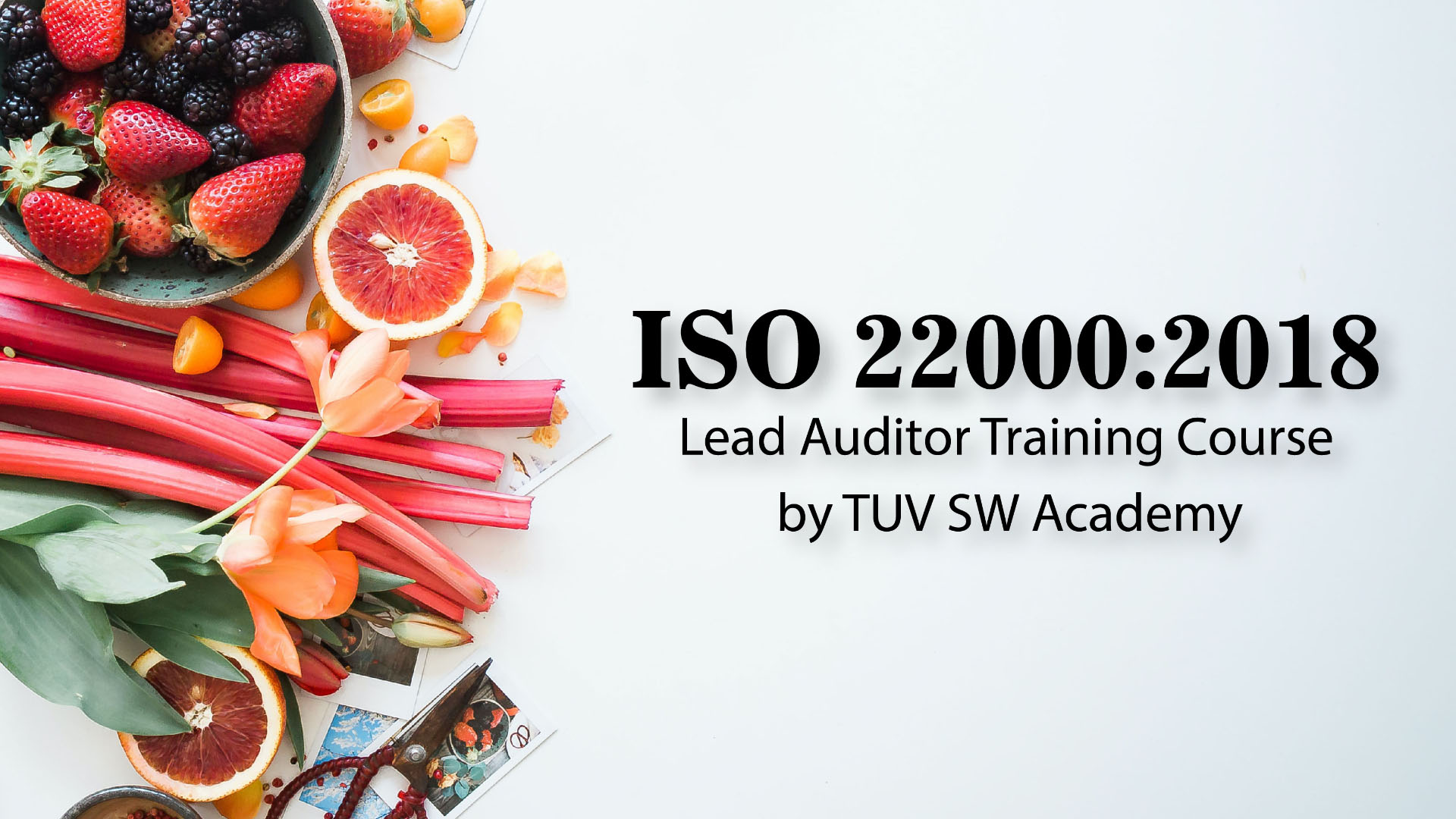 ISO 22000:2018 (FSMS) Lead Auditor Training Course