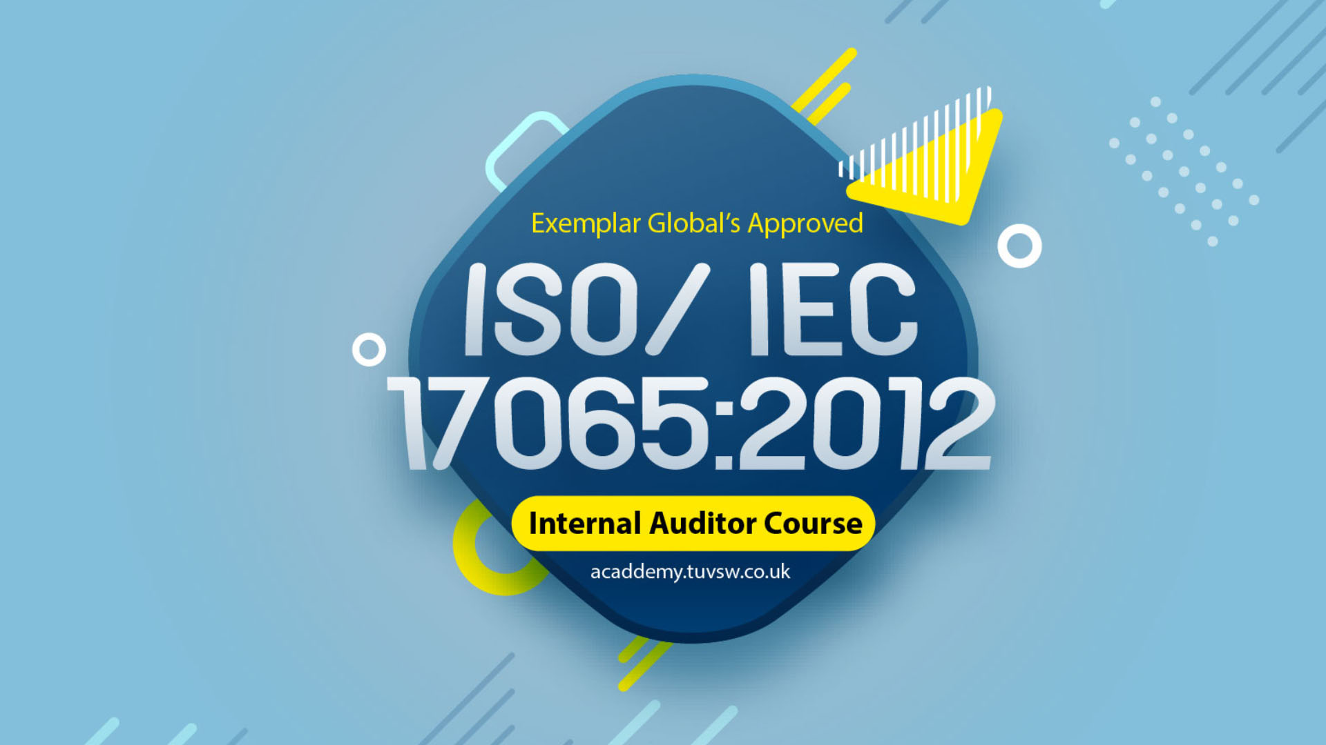 ISO/IEC 17065:2012 Internal Auditor Training Course