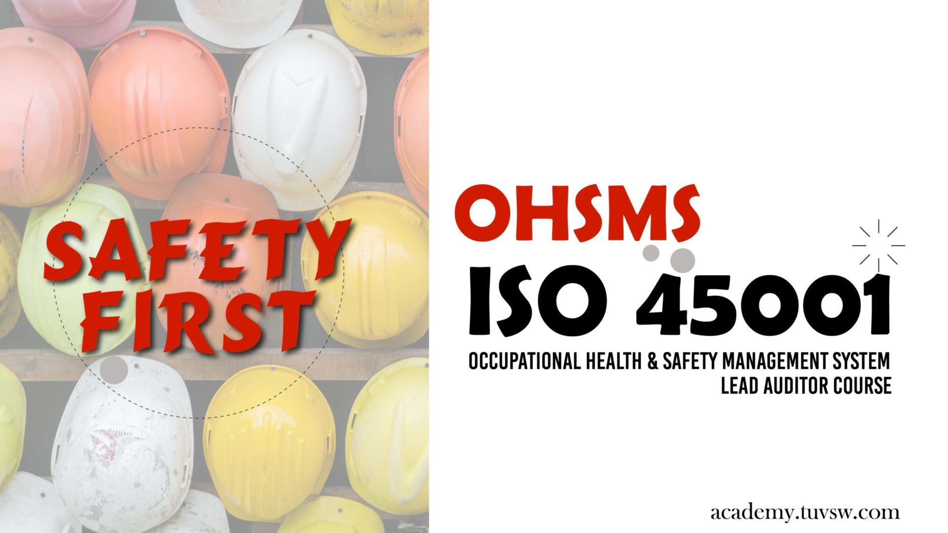 ISO 45001:2018 (OHSMS) Lead Auditor Training Course